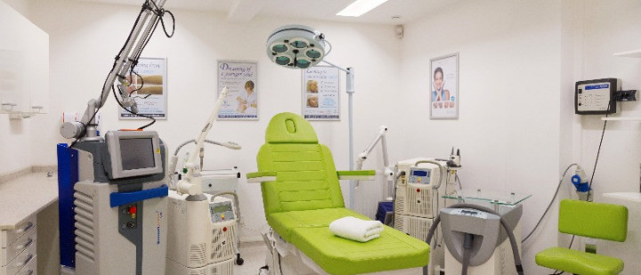 Image of our treatment room