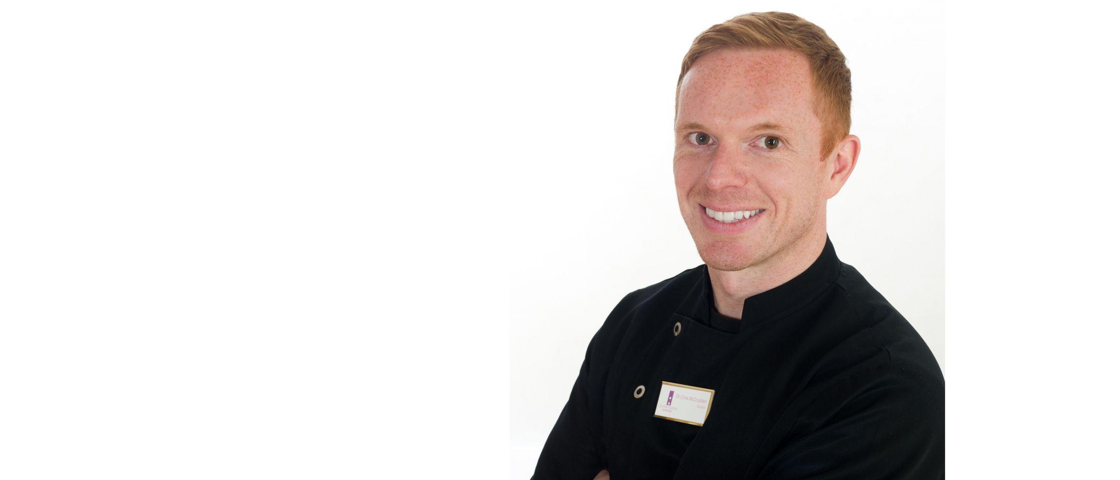 Dr Chris McCrudden - Cosmetic dentist in Edinburgh