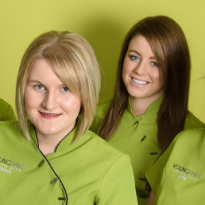 Nursing Team - From left to right: Louise, Melissa, Lucy & Claire.