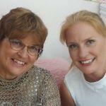 Practice Manager Kim Aylward & Trainee Dr Charlotte Aylward