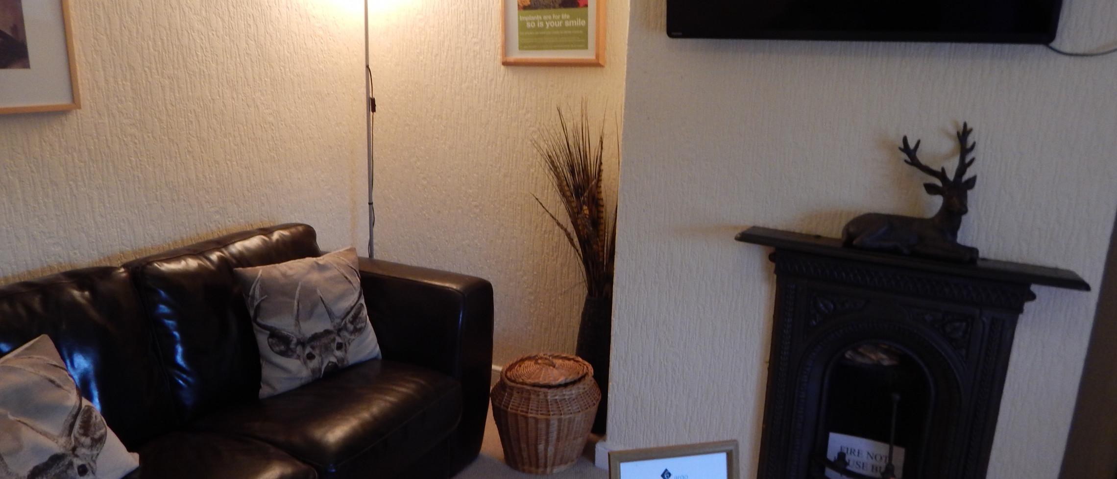 Patient Waiting room has a lovely relaxing cottage feel.