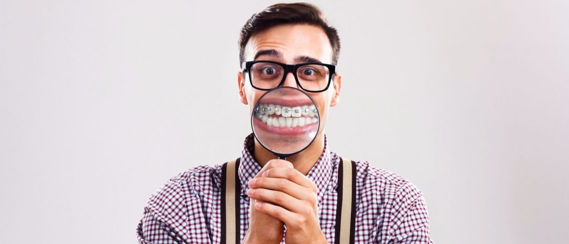 Have you ever wondered about straightening your teeth but were too afraid to ask - like the builder who came in to see us recently.....?