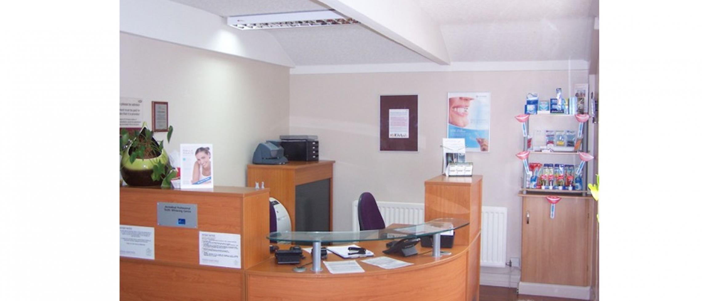 Our beautiful reception area