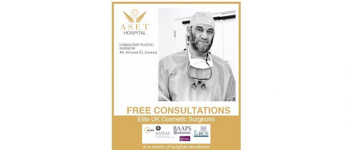 Mr Mr-Ahmed-El-Gawad Consultant Plastic Surgeon