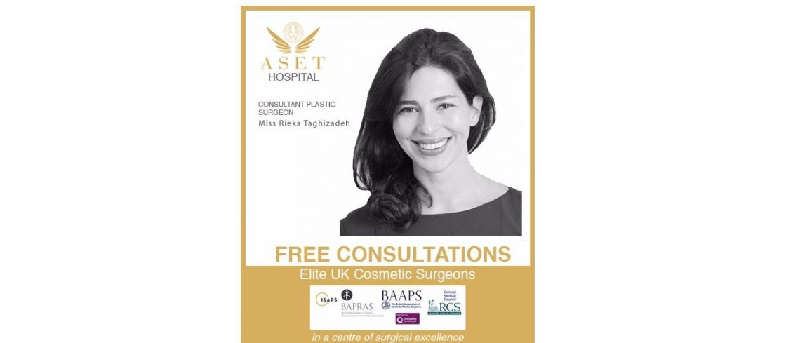 Miss-Rieka-Taghizadeh Consultant Plastic Surgeon