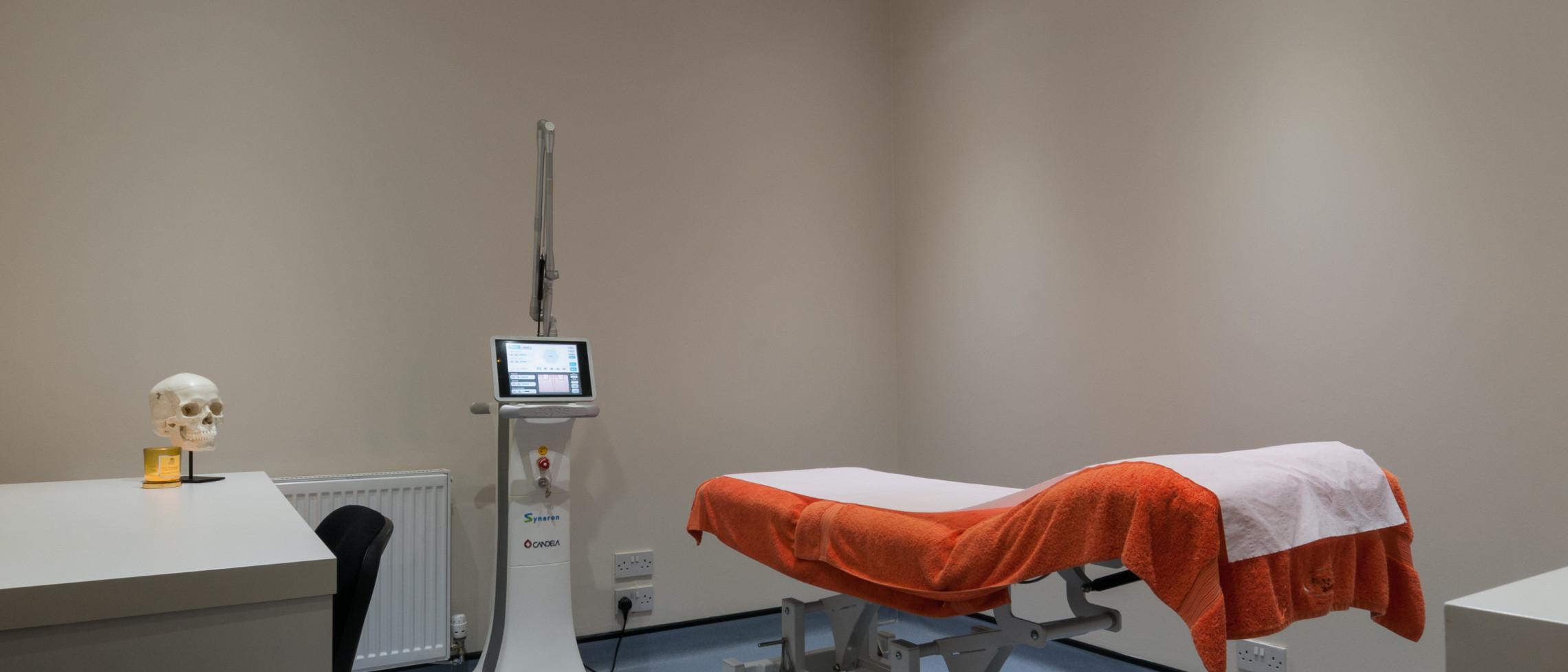 Clinetix Rejuvenation West End clinic doctors room