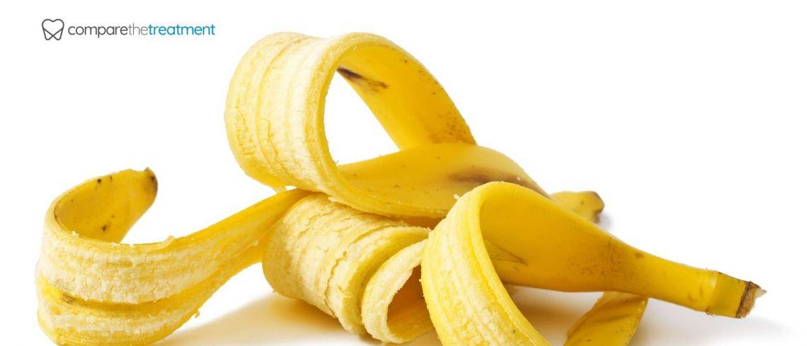 Do banana peels actually help to whiten teeth?